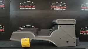 2007 Jeep Wrangler Front Center Floor Console Automatic Transmission Option Gray