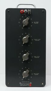 Gr General Radio 1490 d 4 dial Decade Inductor 1 Mh step To 1 H step 1490d