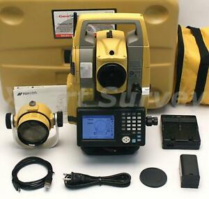 Topcon Os 101 1 Reflectorless Onboard Total Station W Bluetooth Magnet Os101