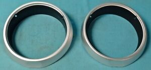 New Mopar 1963 To 1965 A body Plymouth Barracuda Valiant Headlight Bezels
