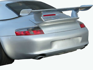 Porsche 996 Gt2 Gt3 Rs Race Style Wing Spoiler 1999 2004 Coupe Custom Ruf