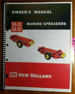 New Holland 510 511 516 517 Manure Spreader Owner s Operator s Manual 8 65