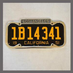 New 1940 1955 Los Angeles La California License Plate Frame Ford Chevy Buick
