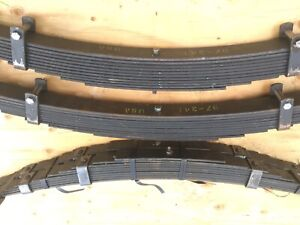 Willys Jeep Pickup Truck Front And Rear Leaf Spring Packs New Us Made