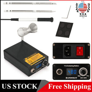 T12 Infrared Soldering Station Bga Rework Station With Tips Welding Tools I4f5