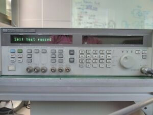Hp 83731a 1ghz 20ghz Synthesized Signal Generator Options 1e1 1e5