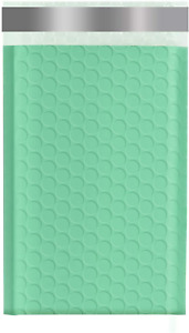 Keepack 5x10 50 Pack Bubble Mailers Small Durable Padded Envelopes Green Ash