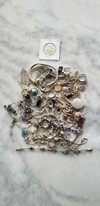 Sterling Silver Wearable And Scrap Lot