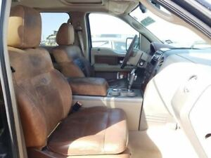 2004 2008 Ford F150 King Ranch Left Front Driver Bucket Seat Brown Leather 11923