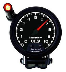 Auto Meter 3 3 8 Es Tach W shift Light 10k Rpm
