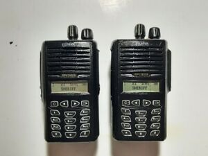 2x Relm Bk Vhf Radios Rpv3600a 148 174mhz 256ch 5w Tested Parts Only Murs Ex