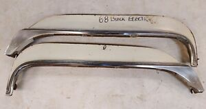 1968 Buick Electra Fender Skirts With The Stainless Trim On Bottom Used Pair