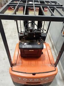 Toyota Electric Forklift Truck Used