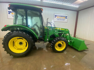 2010 John Deere 5083e Cab Utility Tracto With A c And Heat