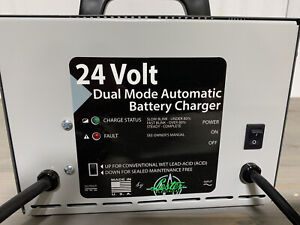 24 Volt 12 Amp Battery Charger Dual Mode