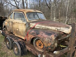 1947 48 Ford Coupe For Parts W flathead Engine