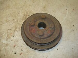 Ford 861 Diesel Tractor Front Crankshaft Power Steering Double Pulley 600 800