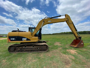2012 Cat 315dl Cab Excavator With A c And Heat