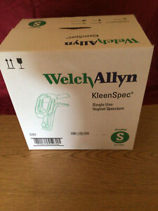 Welch Allyn Kleenspec Vaginal Speculum Box Of 24 Small Model 59000
