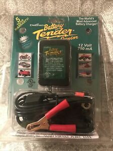 New Deltran Battery Tender Jr 12v 750ma Battery Charger Sealed