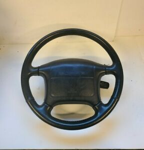 1991 Toyota Supra Mk3 Steering Wheel Black Rare 1986 5 92 88 89 90 91