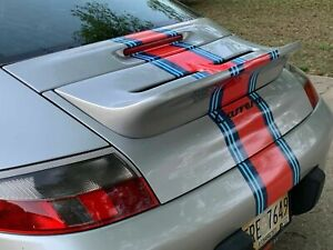 Porsche 996 Duck Tail Spoiler Ta Wing 99 04 Ruf Coup Or Cab 911 W Gt3 Rs Grills