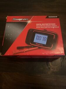 Snap On Digital Multimeter Basic Eedm504f New In Box
