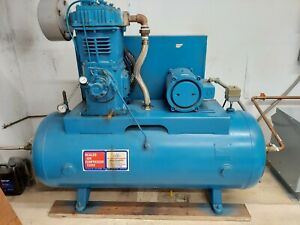 Quincy 10 Hp Piston Air Compressor With Tank