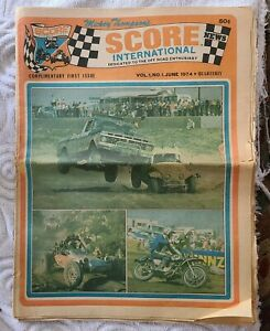 Rare 1974 Mickey Thompson Score International 4x4 Off Road Enthusiast Issue 1