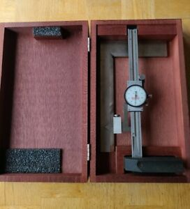 Starrett 250z 6 Dial Height Gage With Case