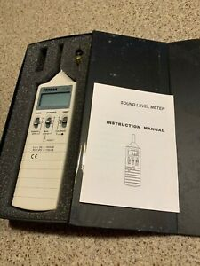 Tenma 72 860 Digital Sound Level Meter With Case
