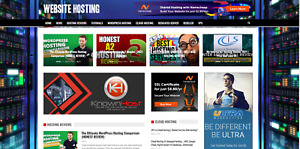 Website Hosting News Guides Affiliate Product Website 100 Automated