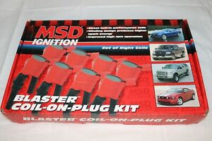 Msd Ignition Blaster Coil on plugs For 05 07 Ford 4 6l 5 4l Sohc 3v 8 pack 82438