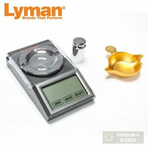 Lyman Micro Touch 1500 RELOADING SCALE 1500 Grain Capacity AC Battery 7750700 $69.70