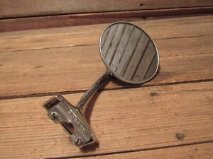 Vintage Chevy Ford Chrysler Classic Hot Rod Rat Rod Side View Car Mirror Part