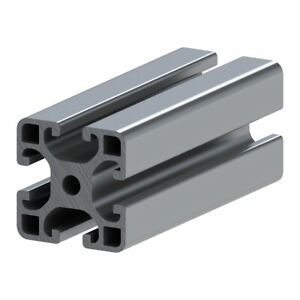 40x40 08 Aluminum T slotted Extrusion Framing 48 Long Slot Code 40 4040
