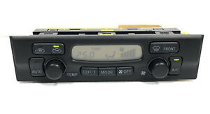 1999 2002 Toyota 4runner A c Heater Climate Control Oem 55900 35360