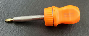 Snap On Ssdmr1a 4 5 16 Ratcheting Magnetic Stubby Screwdriver