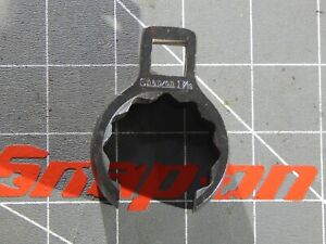 Snap On 1 2 Drive Deep Flare Nut Crowfoot Wrench 1 7 16 12pt Dr Industrial