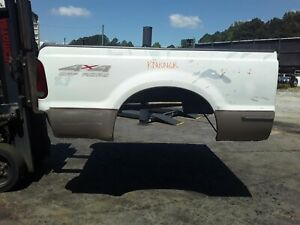 Rnkngr Ford F250 F350 White Short Truck Bed Box Fits 1999 10 Super Duty 5121