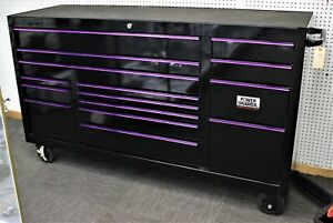 Snap On 73 15 Drawer Triple Bank Classic Series W Power Drawer