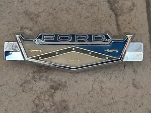 1962 Ford Fairlane Trunk Emblem