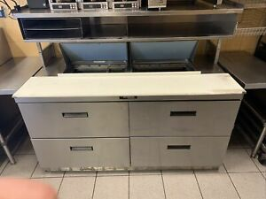 Custom Delfield Cold Table Sandwich Prep Table Il Pickup Only