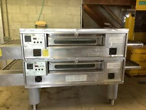 Middleby Marshall Ps570 Pizza Oven Conveyor Nat Gas 208 240 V 1phase Tested