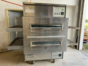 Middleby Marshall 360wb Pizza Oven Conveyor Nat Gas 208 240 V 1phase Tested
