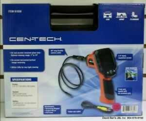 Cen Tech Digital Inspecti N Camera For Inspection In Places With Little Access