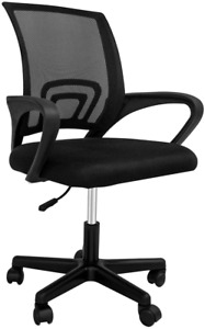 Windeer Back Mesh Home Office Desk Chair Swivel Black Computer Chair With Lumbar
