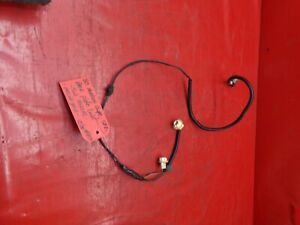 79 81 Mustang Coupe Notch Back Trunk License Plate Light Wiring Harness Plug