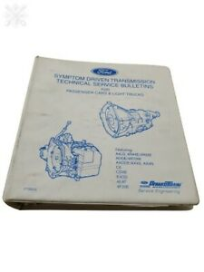 Ford Automatic Transmission Technical Service Bulletins Cars Trucks Manual