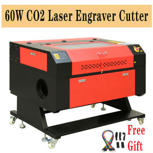Laser Engraver Usb Cutting Engraving Machine 60w Co2 Laser Engraver Cutter